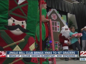JINGLE BELL CLUB BRINGS CHRISTMAS TO 1ST GRADERS